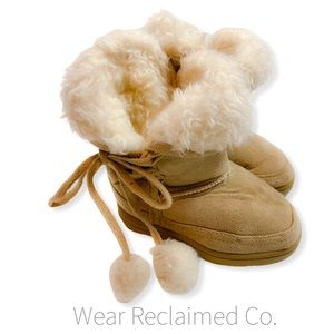 CANDY GIRL Faux Suede Baby Boots - Size 6
